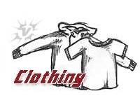 Clothing + sneaker