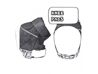 Kneepads and -gaskets