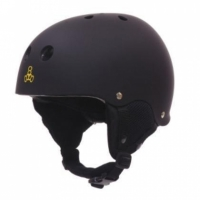"TRIPLE 8 ""Old School"" Audio Snow Helmet black..."