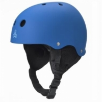 "TRIPLE 8 ""Old School"" Audio Snow Helmet royal blue"