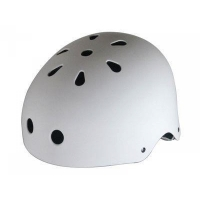 KROWN Kids Helmet white (onesize fits most)