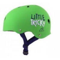 Triple 8 Little Tricky V2 Kids Helmet green
