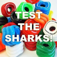 SHARK WHEELS TEST-Set 70mm