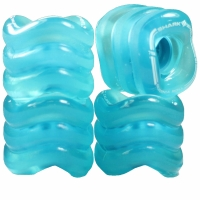 SHARK WHEELS California Roll 60mm/78a trans blue