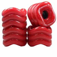 "SHARK WHEELS ""Sidewinder"" 70mm/78a red"