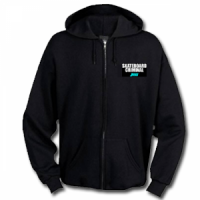 "JUICE ""skateboard criminal"" zipperhoody black"