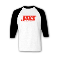 "JUICE raglan ""Pools, Pipes & Punkrock""..."
