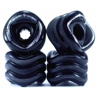 "SHARK WHEELS ""Sidewinder"" 70mm/78a smoke black"