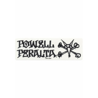 Sticker Powell-Peralta Vato-Rat white logo