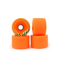 "ORANGATANG ""durian"" 75mm 80a - orange + Bearings"