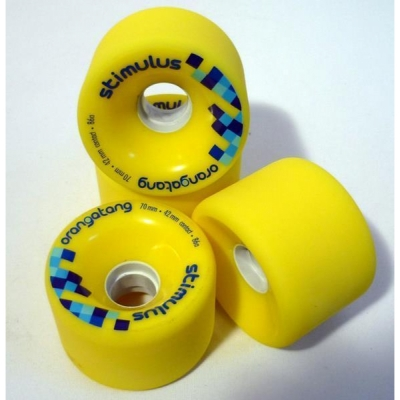 ORANGATANG stimulus 70mm 86a - yellow