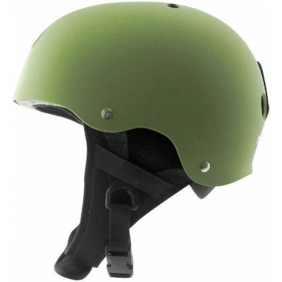 TRIPLE 8 Old School Audio Snow Helmet kellygreen
