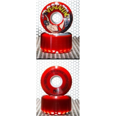 MUCKEFUCK Vert Attack LIMITED! wheels 59mm / 101a red