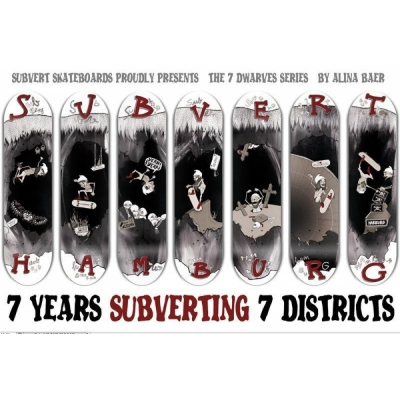 SUBVERT STORE 7 YEARS / Henry Bänsch Deck / all sizes and concaves