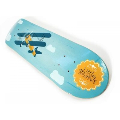 Little Boards Plane Kinder Skateboard Deck