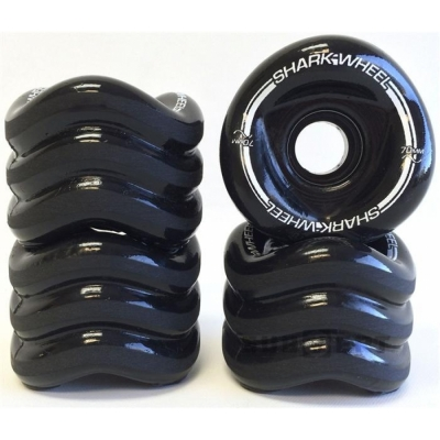 SHARK WHEELS Mako 70mm/80a black