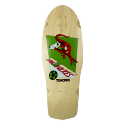 TRACKER Dan Wilkes - Dino Channel Air - 10.5 x 31 - WB: 17.125  Reissue Deck