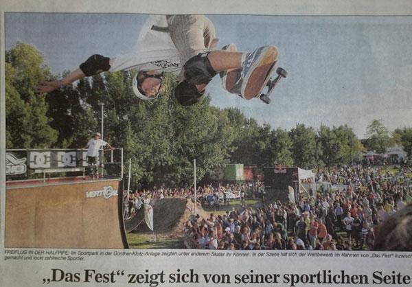 Mike Kieffer bs air festcup 2009 badische Nachrichten