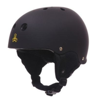 TRIPLE 8 Old School Audio Snow Helmet black SMALLsize