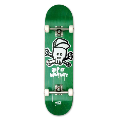 Mob Complete Board SKULL Green 8.0