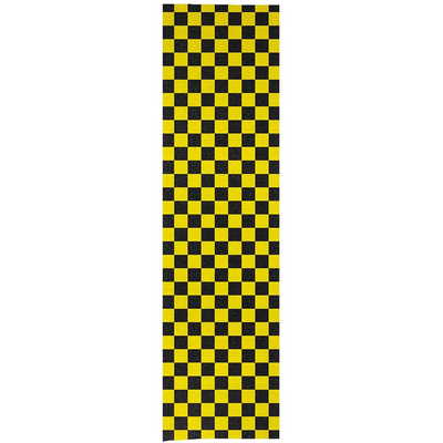 Enuff Grip Tape Chequered Yellow 9 x 33