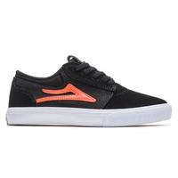 Lakai Schuhe Griffin Kids - black orange suede 37